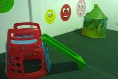 Lezecká vež a klouzačka pro děti
