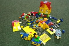 LEGO na hraní