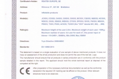 Certifikát SCT